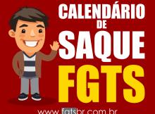 Calendário FGTS 2018