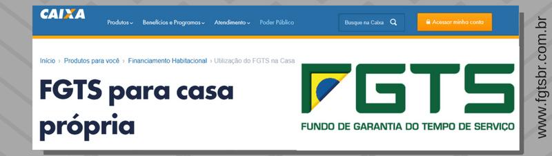 Logo - Saque do FGTS