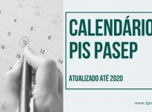 CALENDÁRIO pis pasep 2020