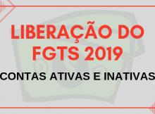 Liberar FGTS 2019