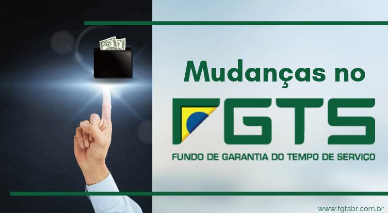 Mudança no FGTS 2019