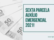 sexta parcela auxílio emergencial