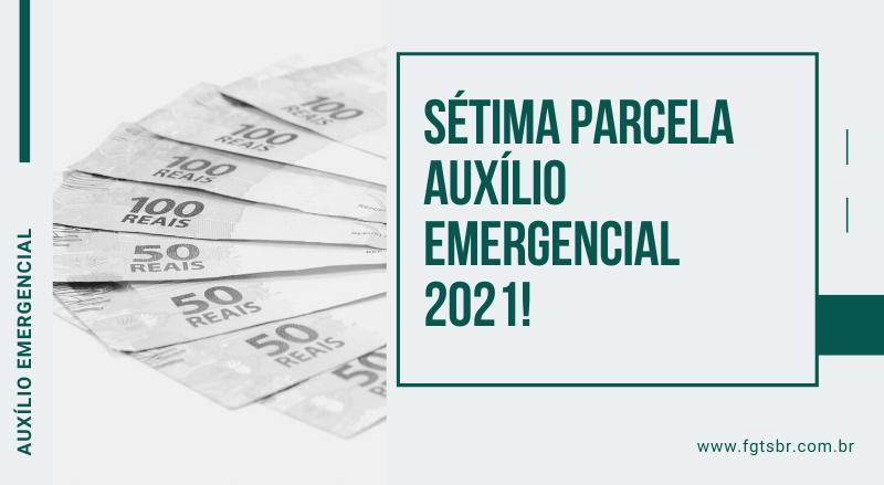 sétima parcela auxílio emergencial